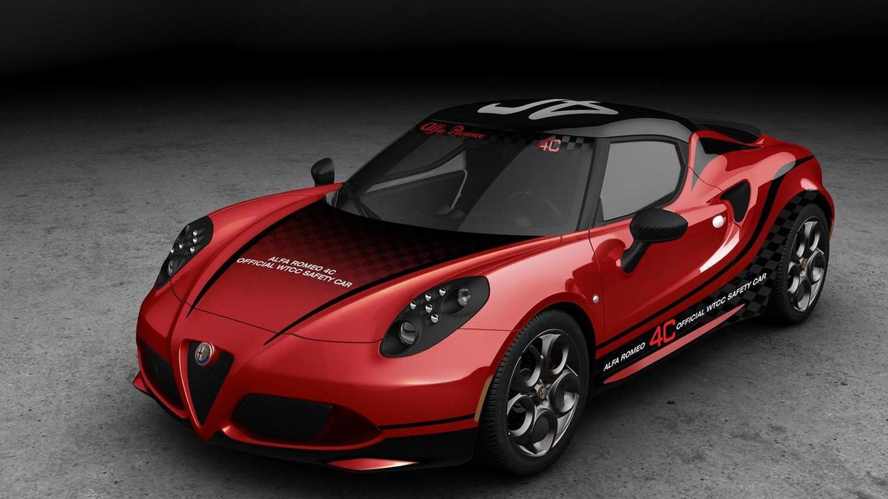Alfa Romeo 4C 2014 WTCC safety car