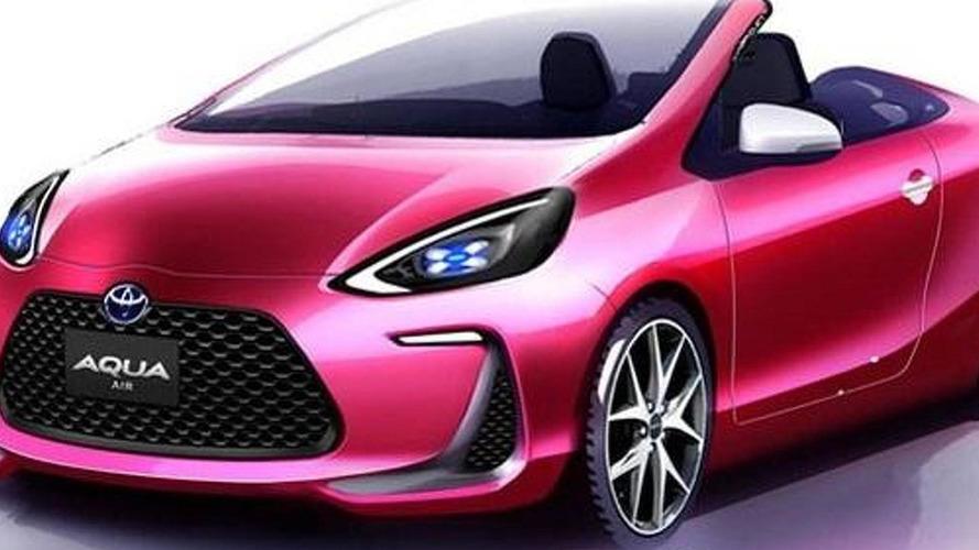 Toyota Aqua Air concept heading to Tokyo Motor Show