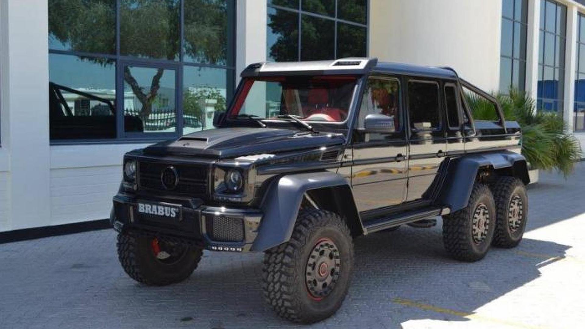 Brabus B63S 700 6x6 shows its metal in Dubai