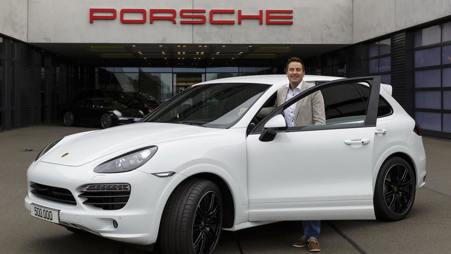 Porsche builds 500,000th Cayenne, Toyota makes three millionth Prius
