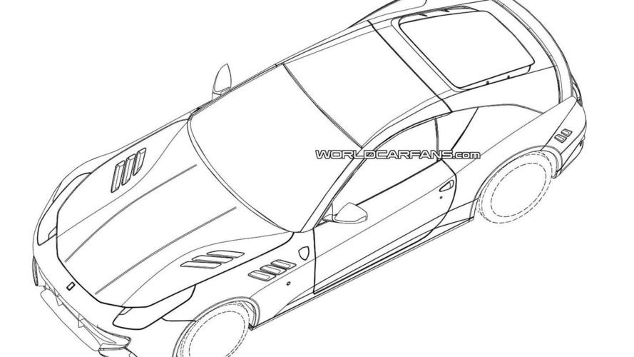 Mysterious Ferrari patent photos actually the next-generation California?