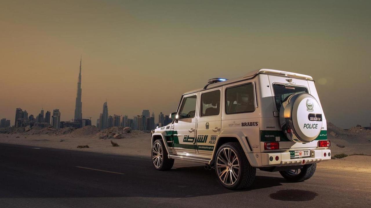Brabus unleashes B63S - 700 Widestar for Dubai police