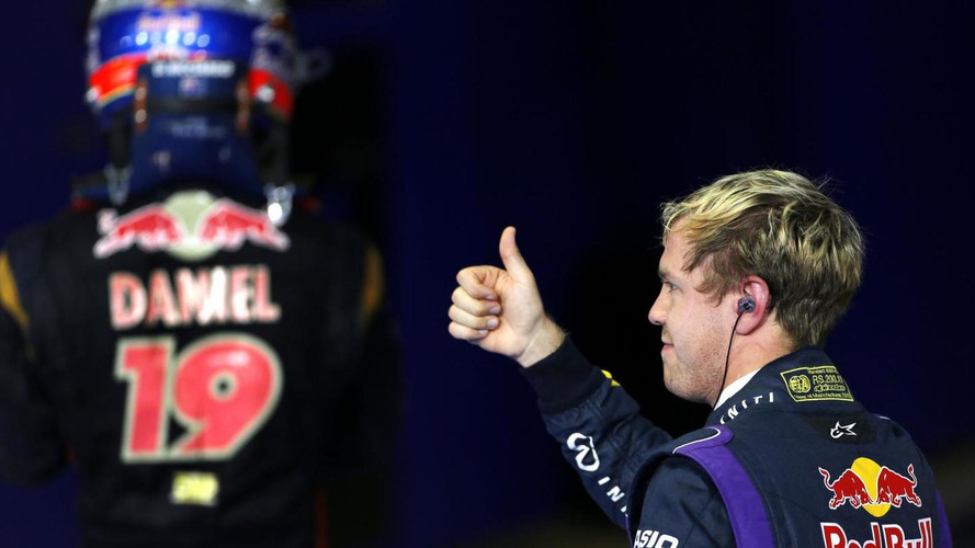 Ricciardo happy 2014 teammate Vettel only 'human'