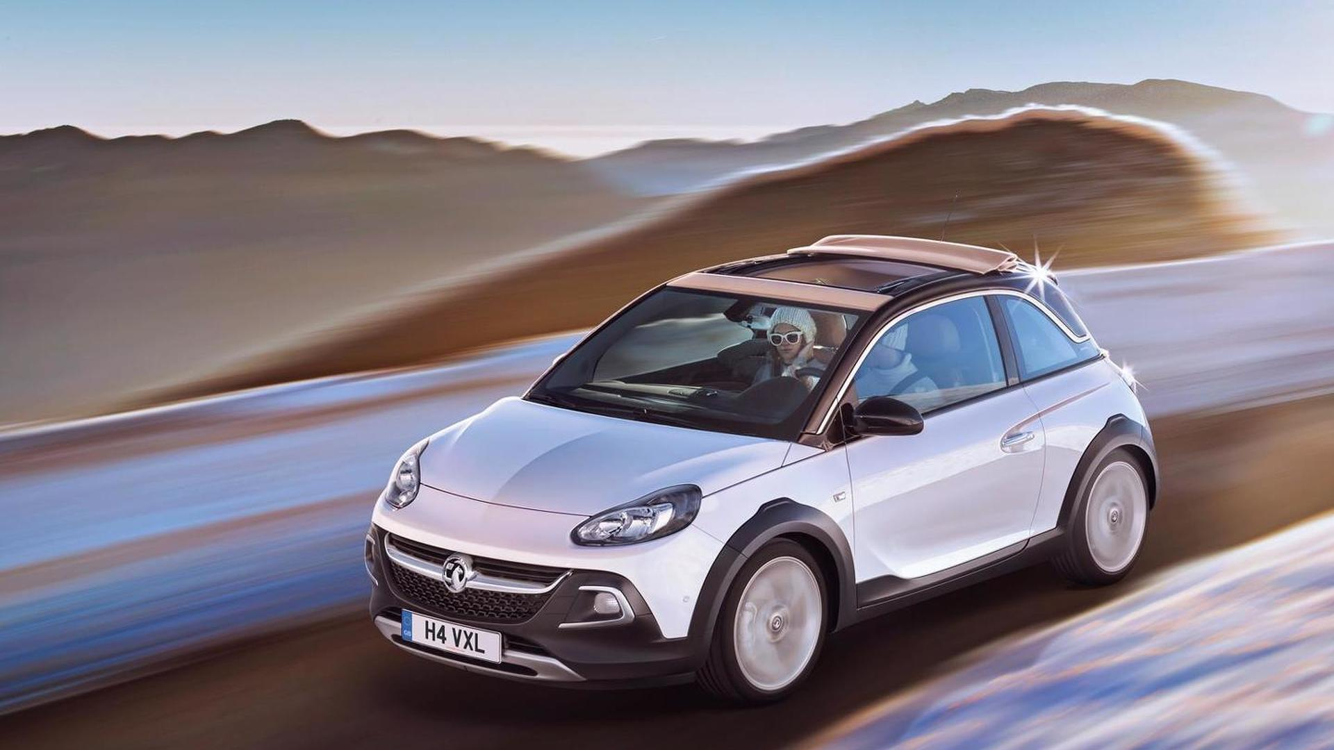 Opel Adam ROCKS shows rugged styling in Geneva