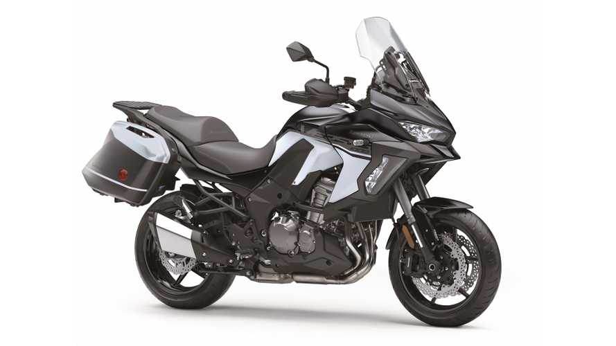 The 2019 Kawasaki Versys 1000 SE LT+ Goes High Tech