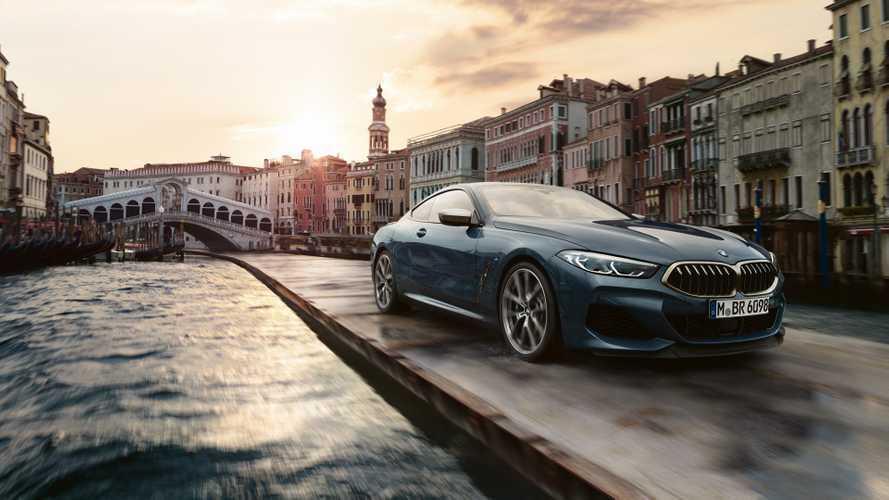 Járatlan útra tévedt az új BMW 8-as Coupé Velencében