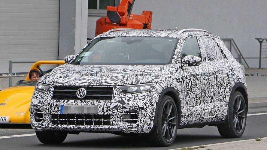 Fotos espía del Volkswagen T-Roc R 2019: ¡con jaula antivuelco!