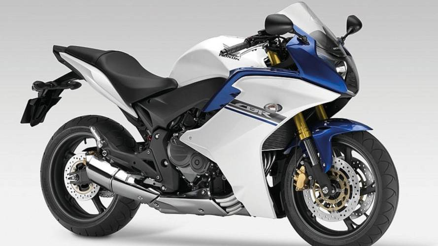 2011 Honda CBR600F: a faired Hornet