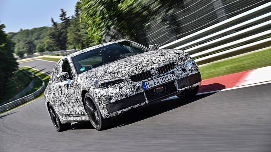 2019 BMW 3 Series teasers Nurburgring