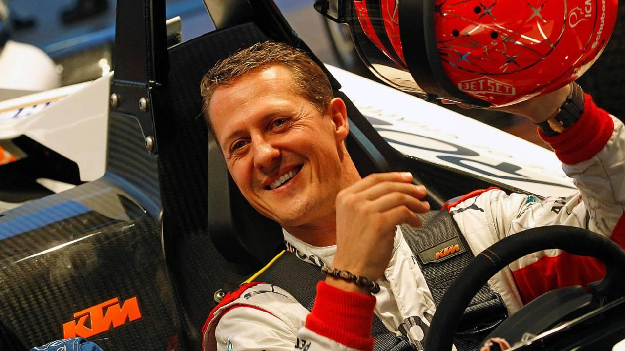 MIchael Schumacher Race of Champions 2012
