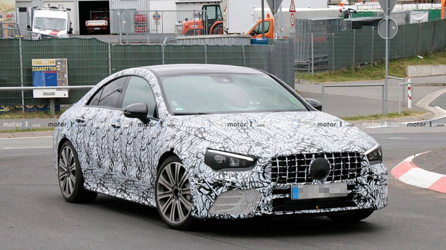 Le Mercedes-AMG CLA 45 poursuit sa mise au point