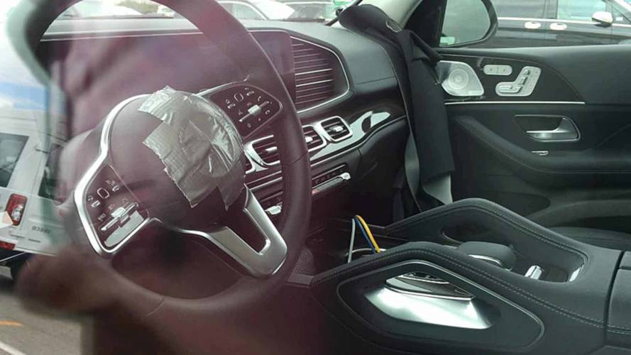 Mercedes-Benz GLE-Class Interior Spy Shots