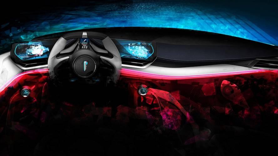 Pininfarina PF0 Electric Hypercar Teases Its Futuristic Cabin