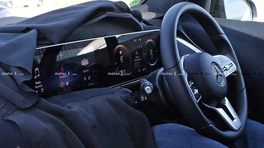 Mercedes EQ C photos espion