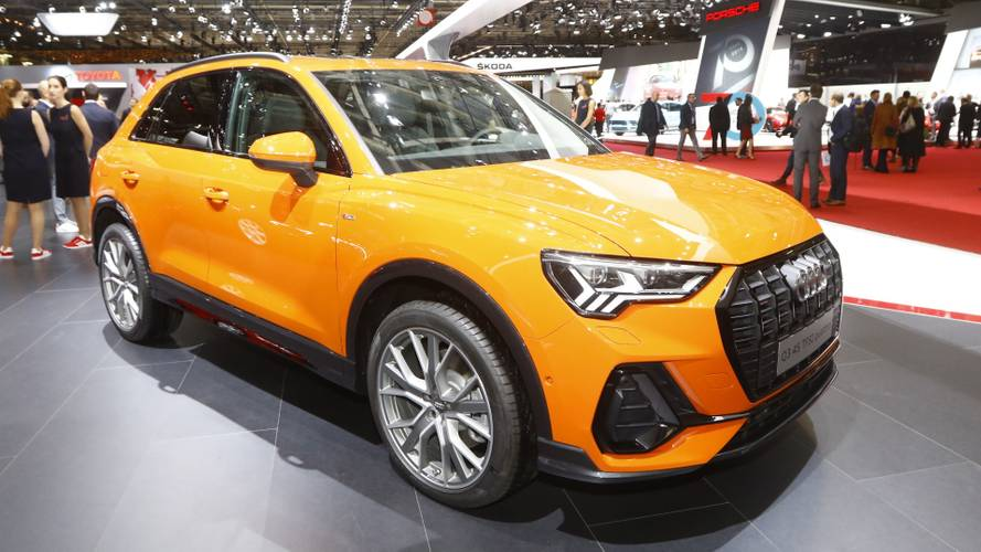 2019 Audi Q3 brings a splash of colour to Paris Motor Show