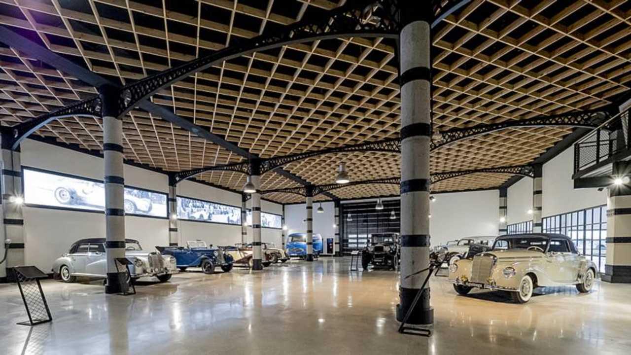 Museo de coches clásicos Mercedes-Benz, en Aguinaga