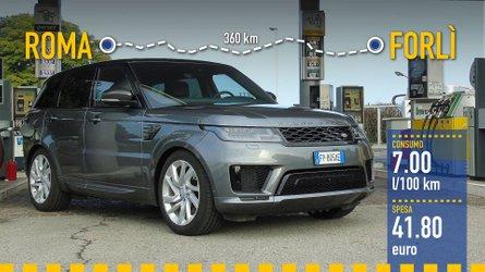 Range Rover Sport PHEV, la prova dei consumi reali