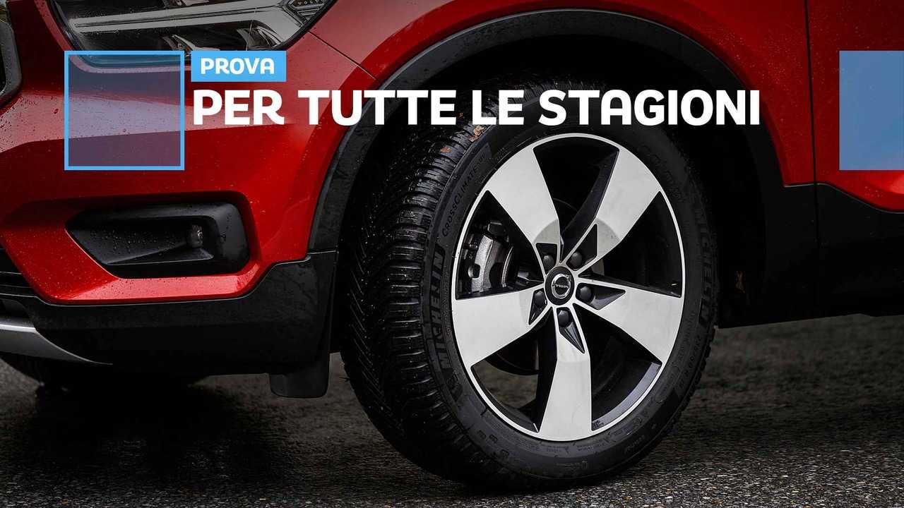 Michelin CrossClimate SUV, la prova