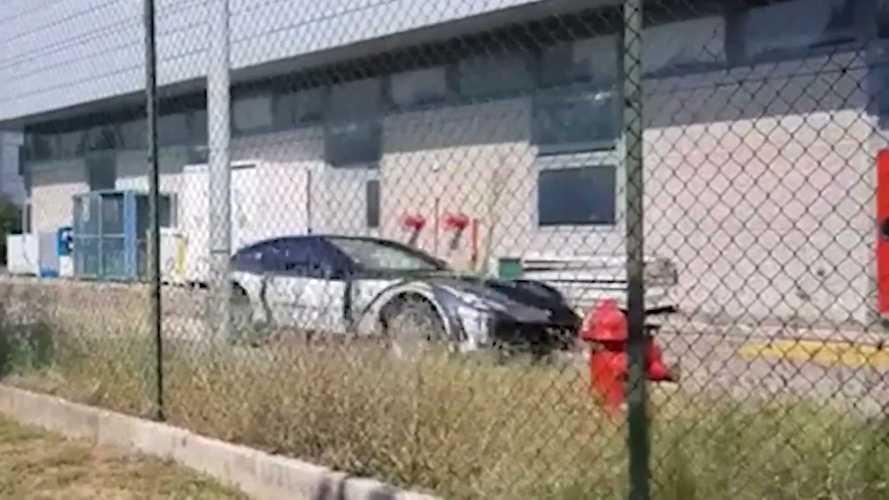 Ferrari Purosangue 2022: vídeo espía del no SUV de Ferrari