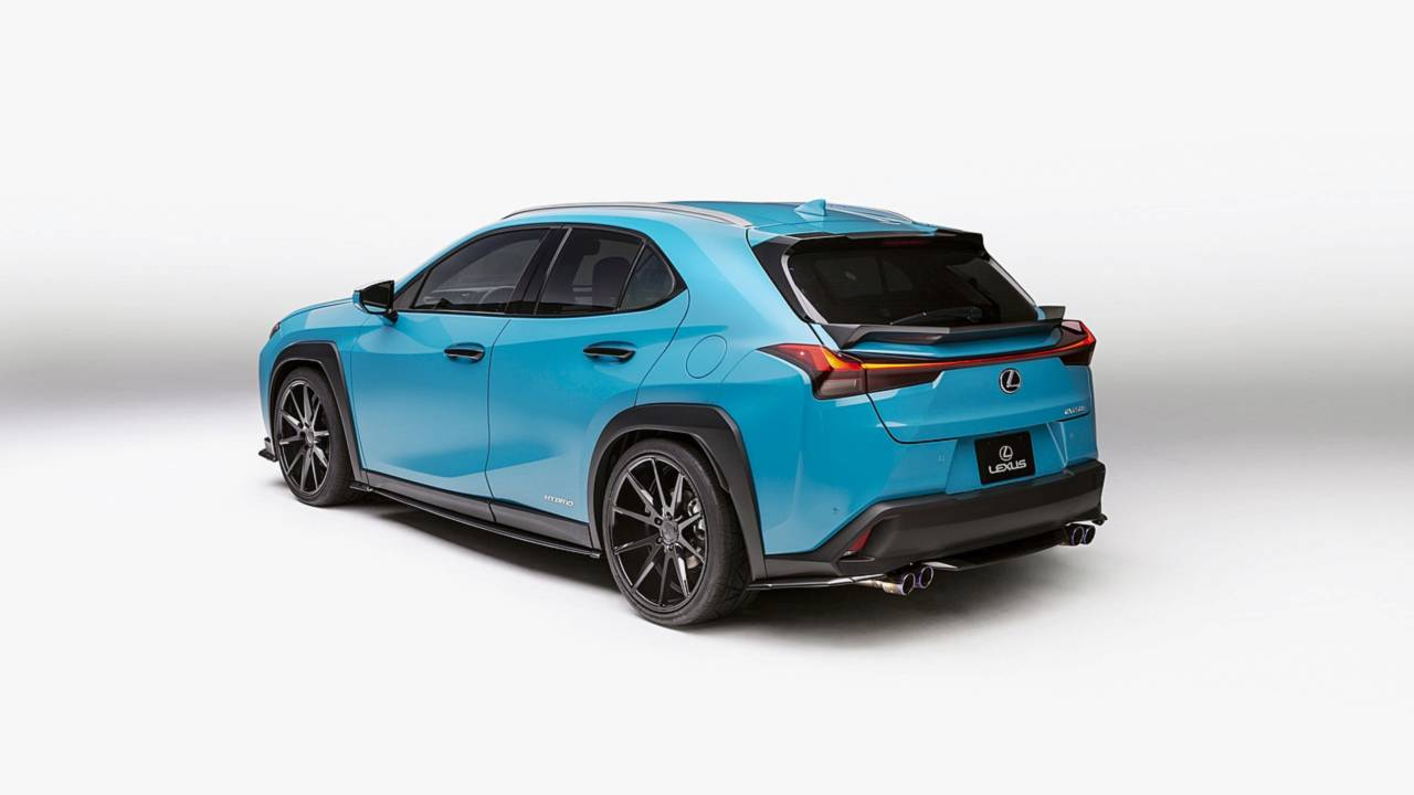 lexus debuts colourful lc and ux one offs at pebble beach. Black Bedroom Furniture Sets. Home Design Ideas