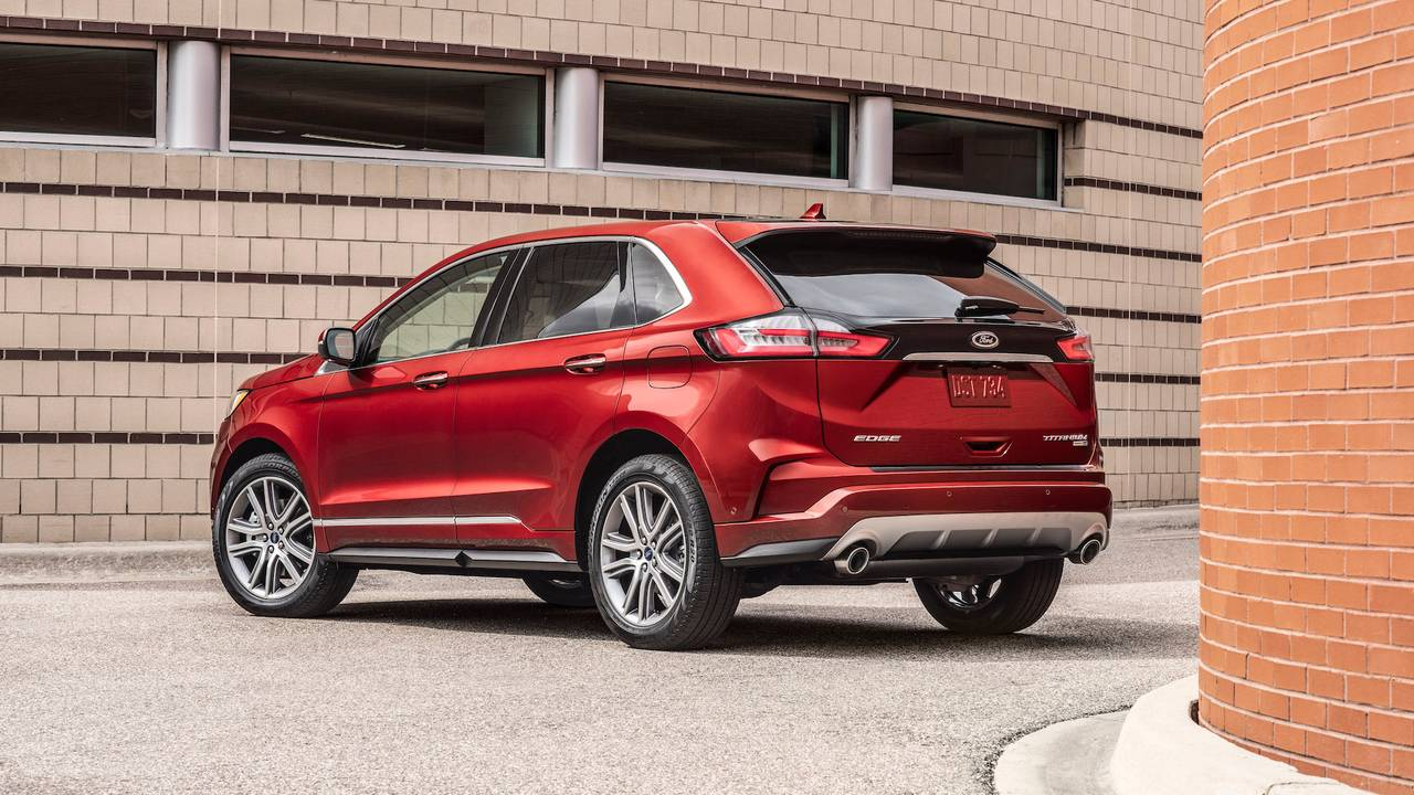 2019 Ford Edge Titanium First Drive: On The Edge Of Glory