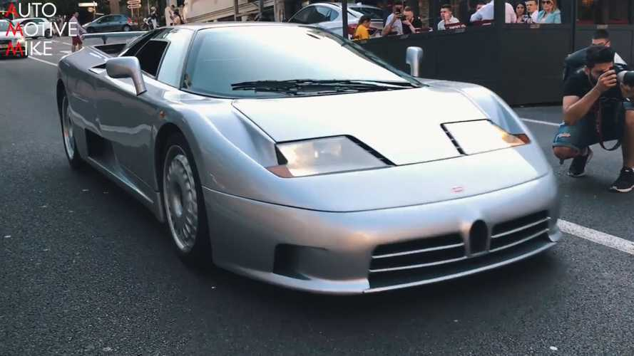 Bugatti EB 110 Video Gets Up Close With The Epic '90's Hypercar
