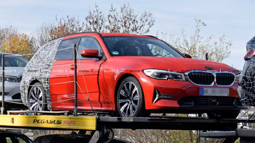 BMW 3 Series Touring drops camo in new spy shots