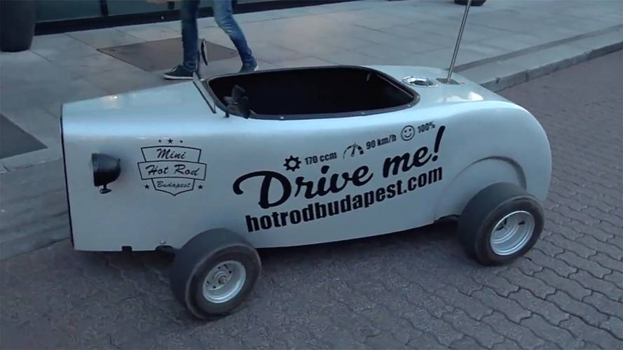 These Adorable Mini Hot Rods Are Like A Real-Life Mario Kart