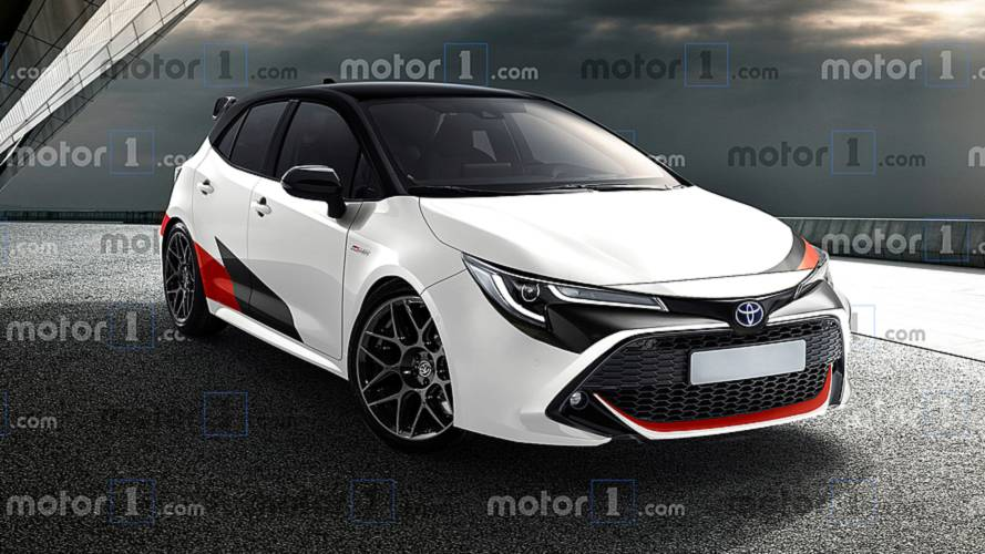 Toyota Corolla GR Rendering – The Hybrid Becomes Sporty