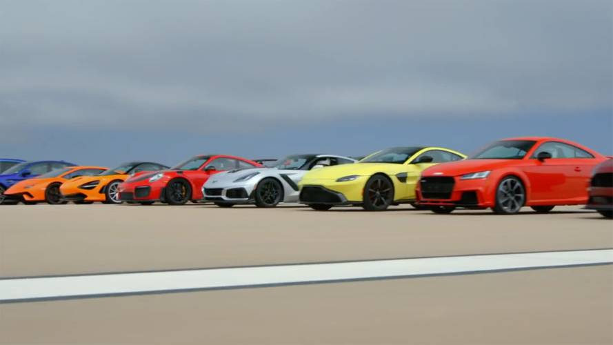 Watch Motor Trend's ultimate drag race 8 – it's insane!