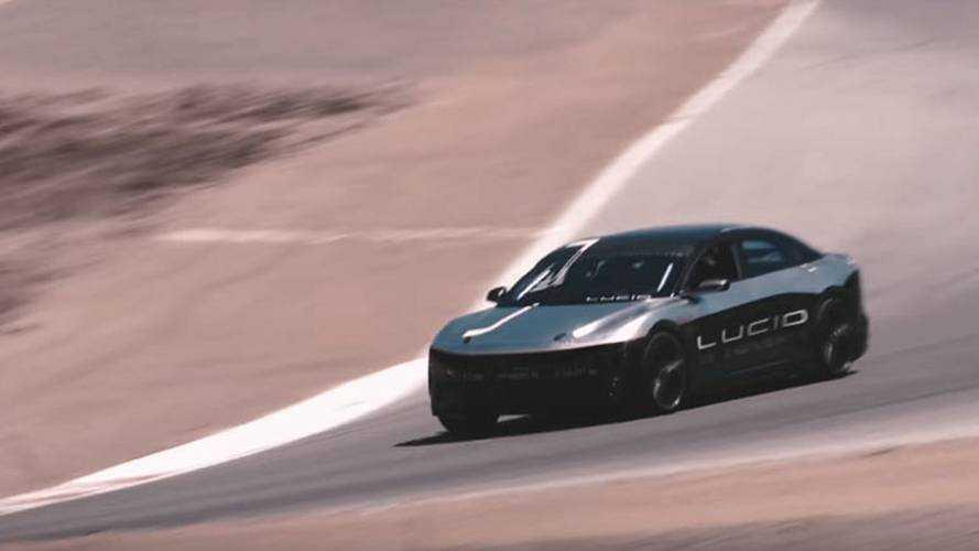 Lucid firması Air modeliyle Laguna Seca'da rekor kırdı