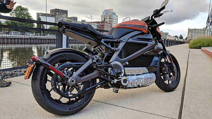 Harley-Davidson'ın elektrikli motosikletine yakından bakın