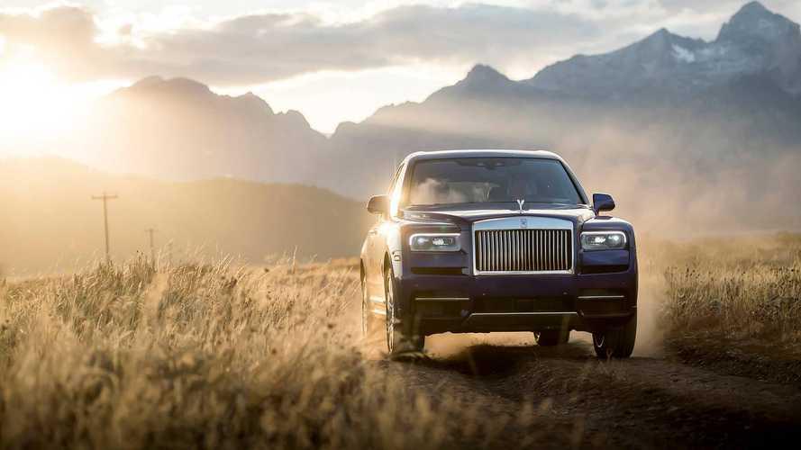 Rolls-Royce, SUV modeli Cullinan'a gelen talebe yetişemiyor