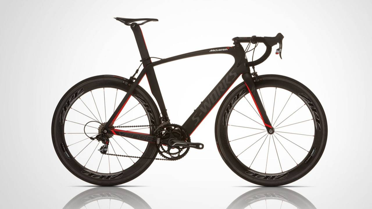 Das McLaren-Rennrad