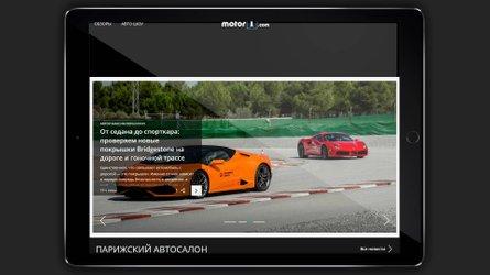 Motor1.com lança nova edição na Rússia