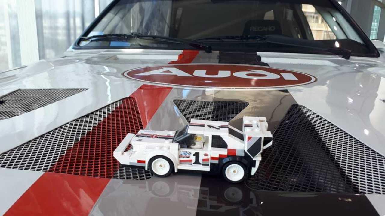 Lego Audi Sport Quattro S1 Pikes Peak