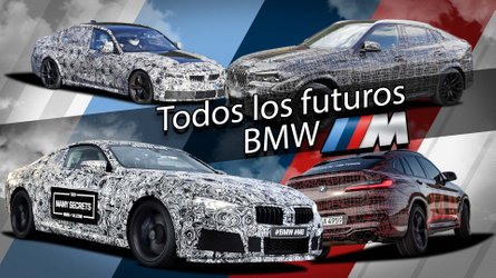 Galería de fotos: los futuros BMW M que llegarán en los próximos meses