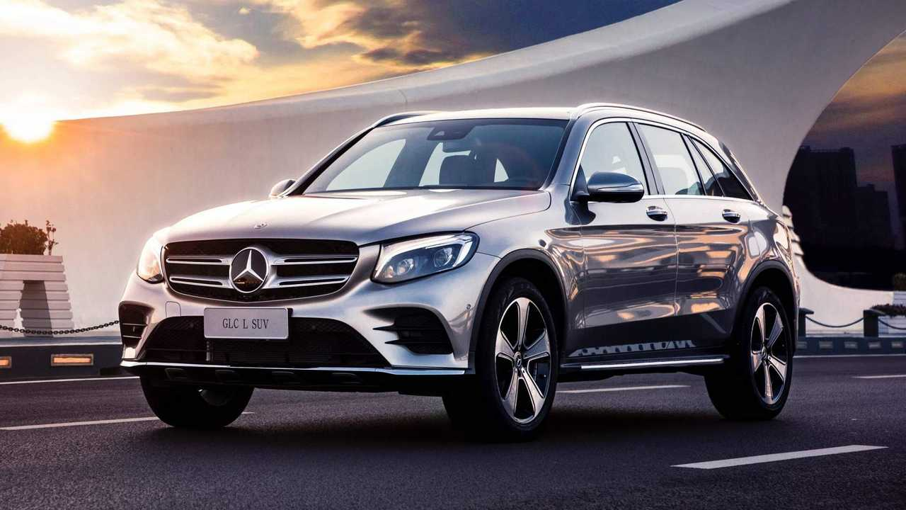 mercedes glc l is a longwheelbase suv only for china