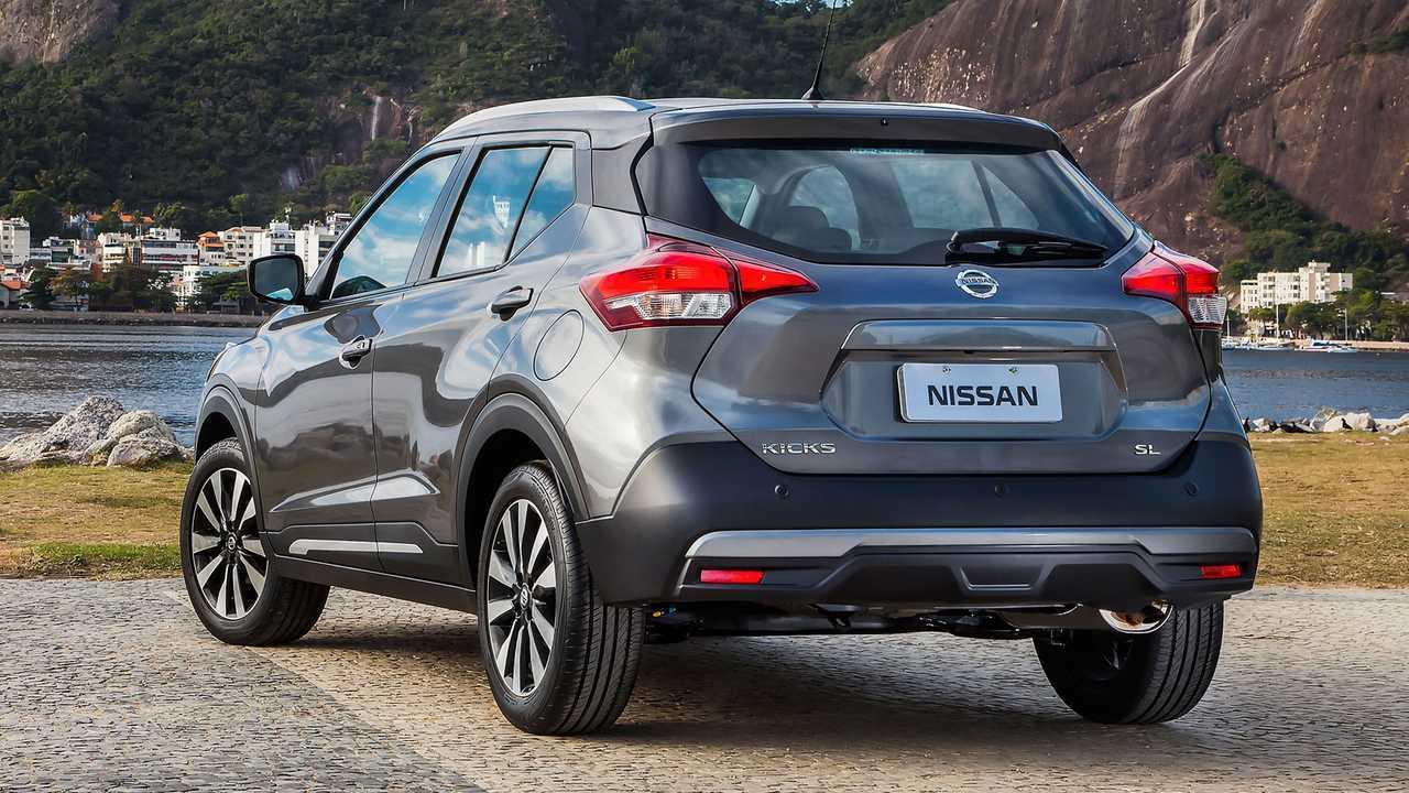 Nissan Kicks estreia na Índia mais robusto e espaçoso que o brasileiro Nissan-kicks-traseira-global