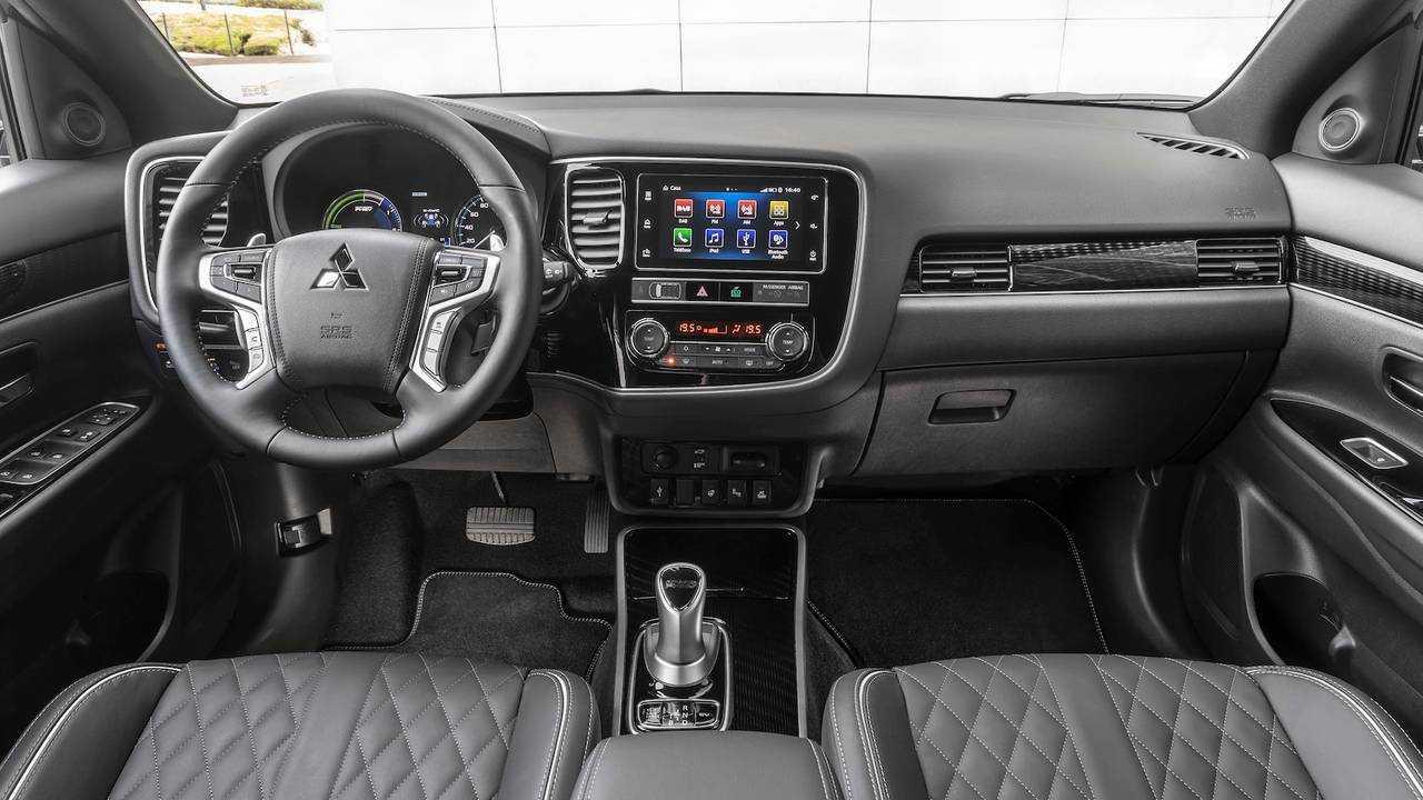 Mitsubishi Outlander PHEV 2019 primera prueba