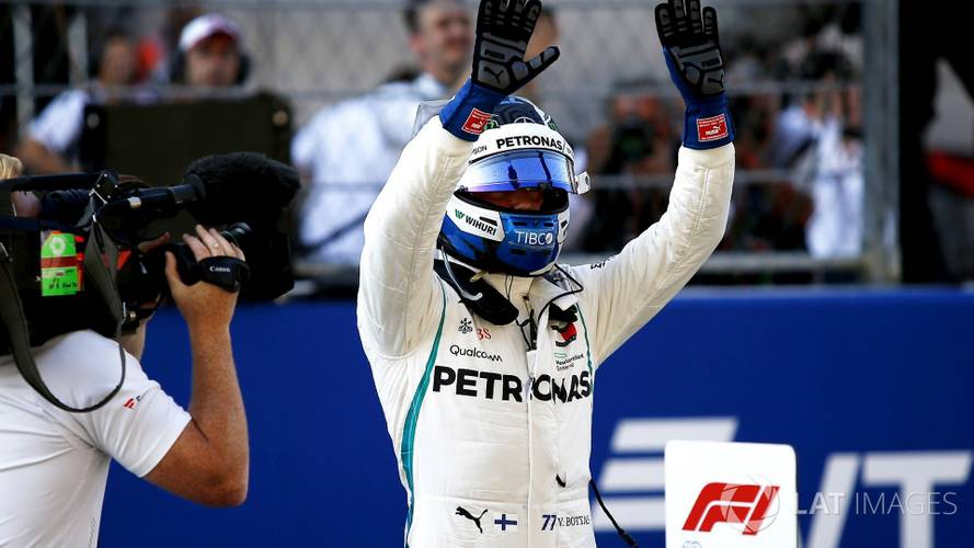 2018 F1 Russian GP: Bottas Leads All-Mercedes Front Row