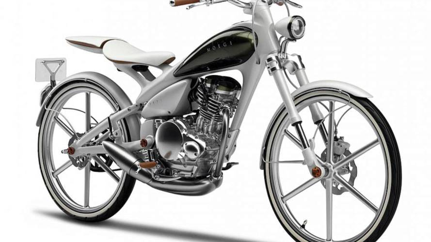 Yamaha Y125 Moegi: a bicycle with an engine?