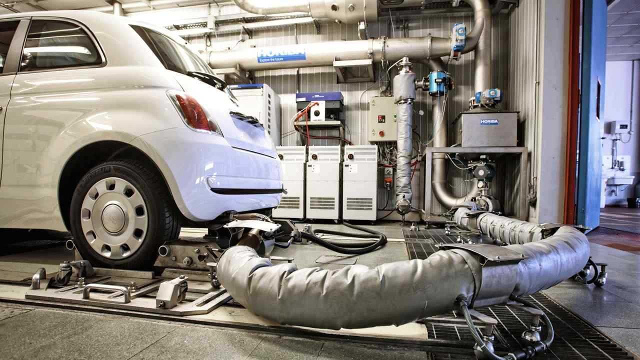 Car emission testing centre
