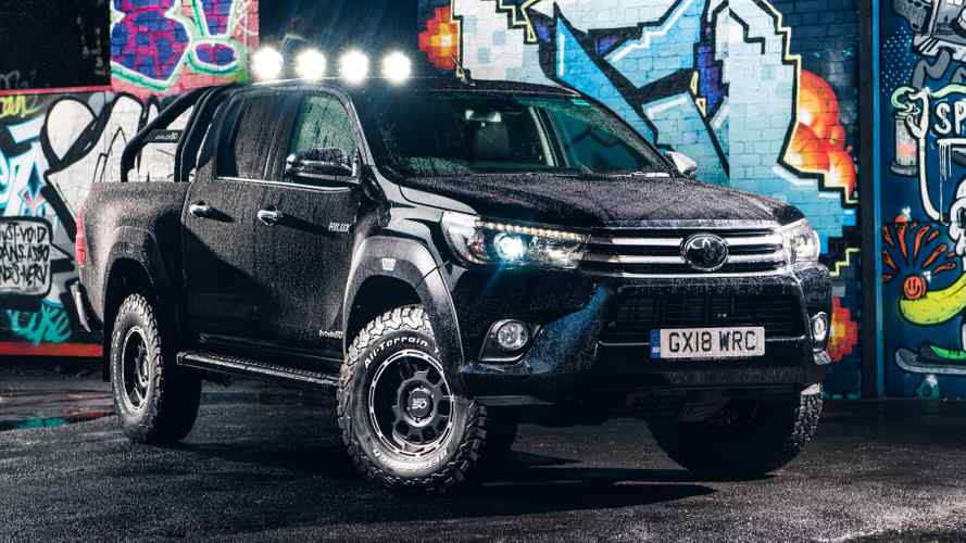 Toyota Hilux Invincible 50 Built To Conquer The Zombie Apocalypse