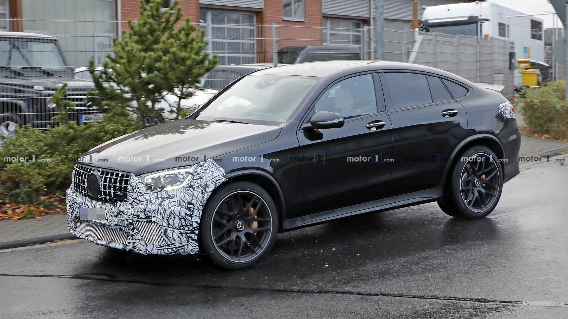 Mercedes Amg Glc 63 Coupe Spotted Preparing For An Early Facelift