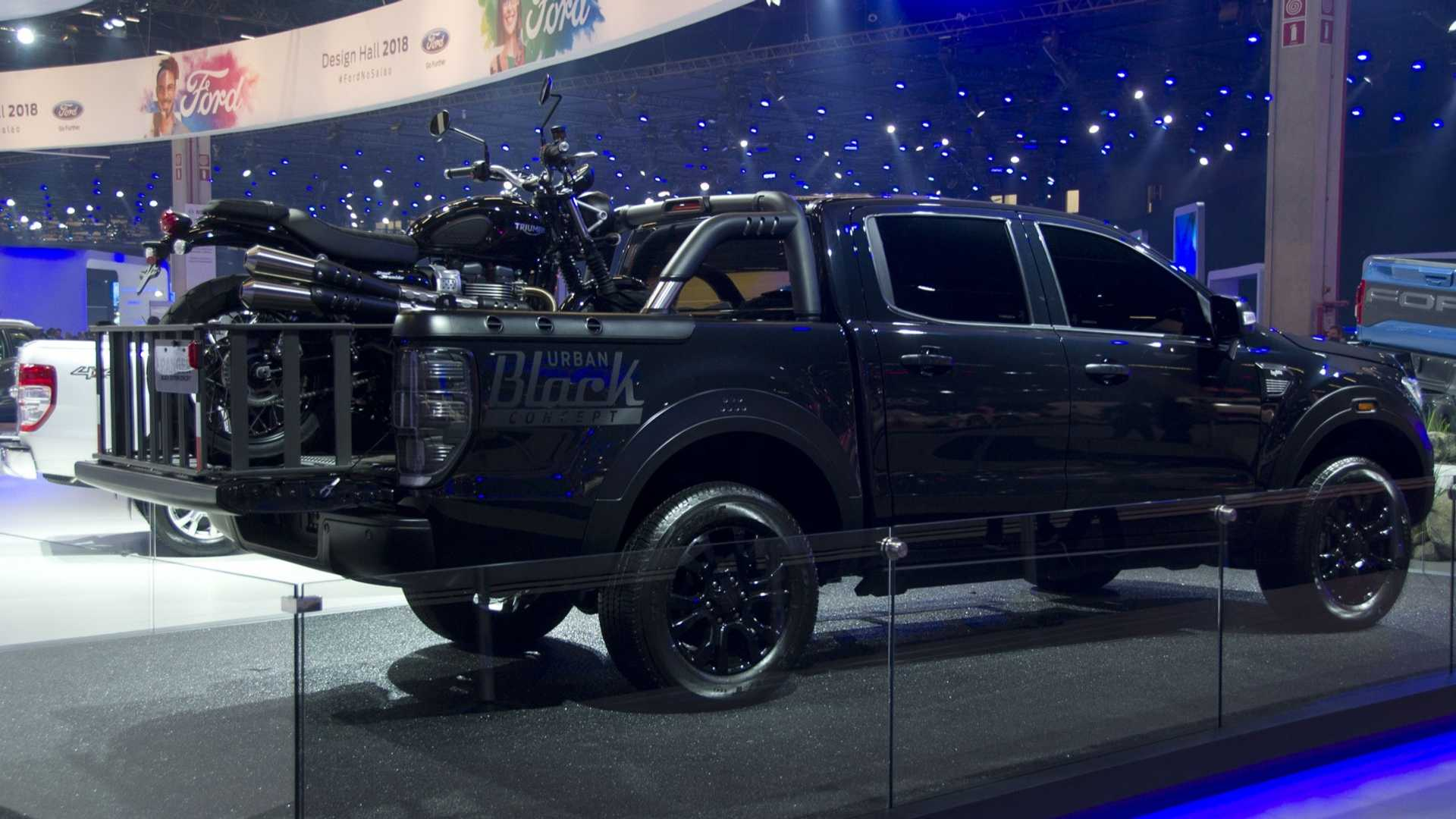 Ford Ranger Storm Black Edition Debut As Darkly Styled Trucks