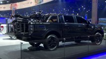 Ford Ranger Black e Storm - Salão de SP 2018