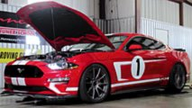 hennessey zagnal svoj ford mustang heritage edition na dinostend