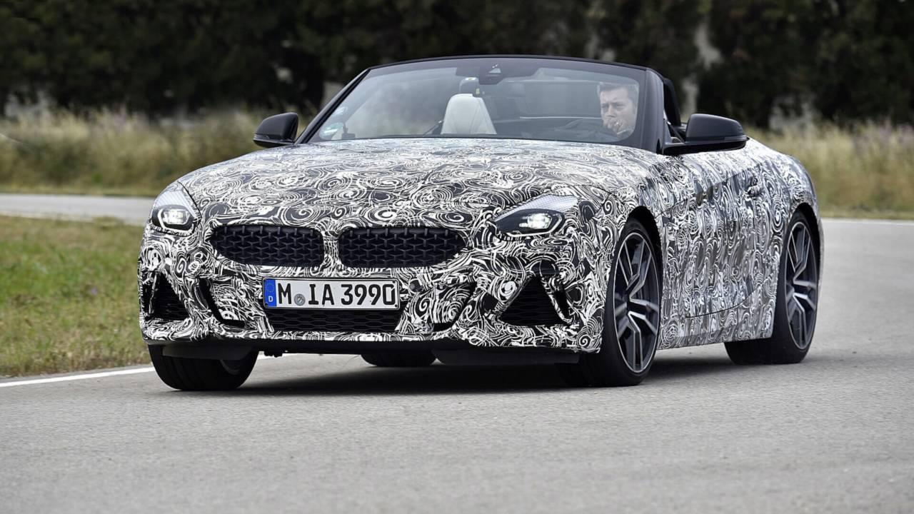 BMW Z4 2019 spy photo