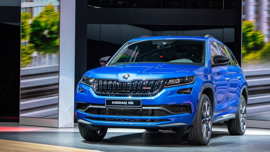 Skoda Kodiaq RS at the Paris Motor Show